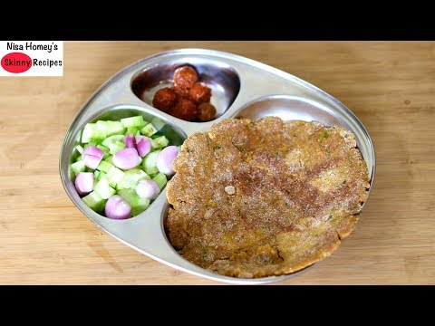 high-protein-gluten-free-roti-recipe---thyroid/pcos-weight-loss-diet-recipes-|-skinny-recipes