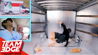 Can You Make a Pizza in the Back of a Moving Truck!?