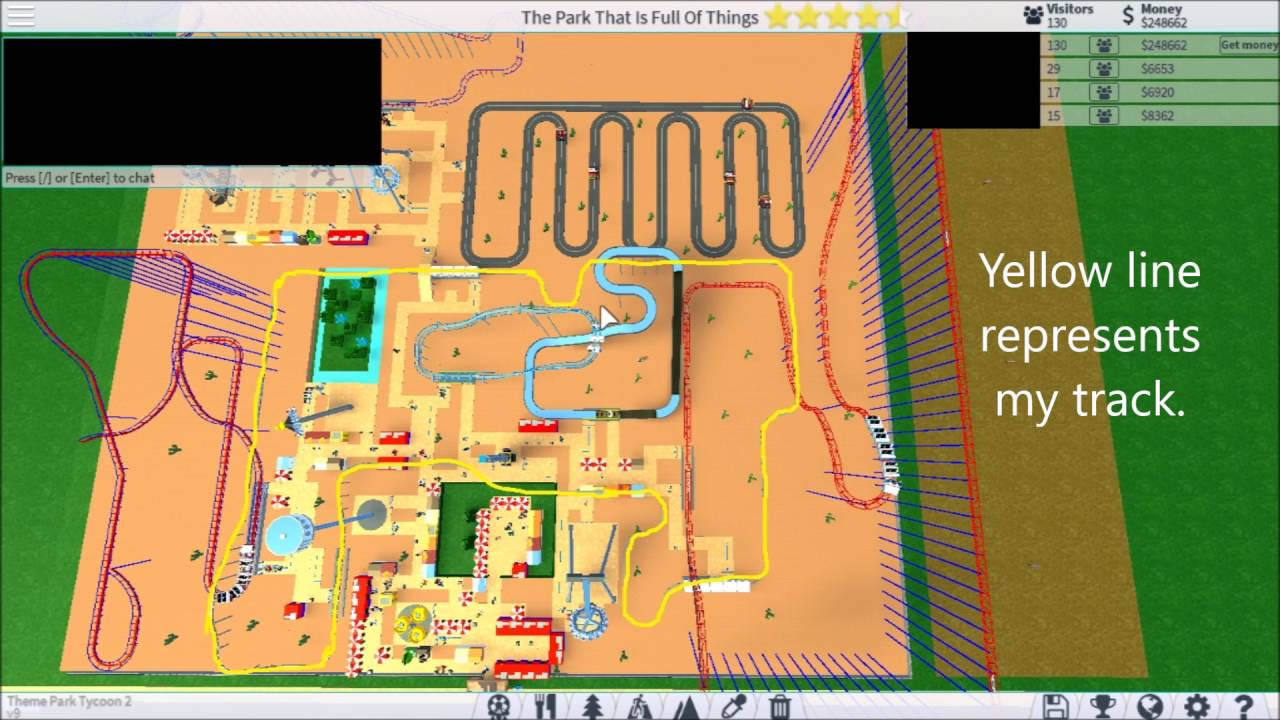 How to make a lot of money fast on Theme Park Tycoon 2 - YouTube