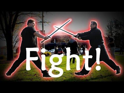 Let The Sword Fighting Begin!