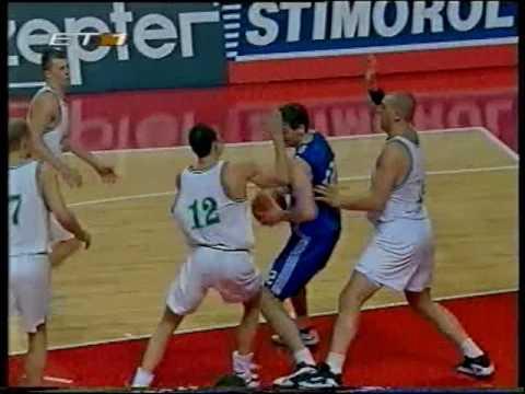 1998 FIBA World Championship second round Lithuania-Argentina(highlights)