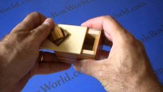 Karakuri Marble Cake Japanese Secret Puzzle Box