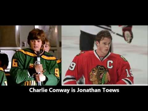 The Mighty Ducks (1992) as NHL Pros
