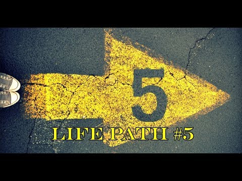 Numerology : Life Path Number 5 - YouTube