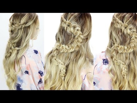 The Braid Breakdown: Zig Zag Half Updo