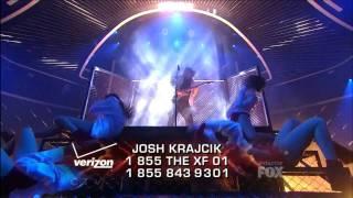 The X Factor 2011 USA -  Top 7 Josh Krajcik