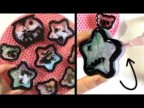 Watch Me Resin 02 | Pastel Goth Resin Shaker Charms (Liquid)