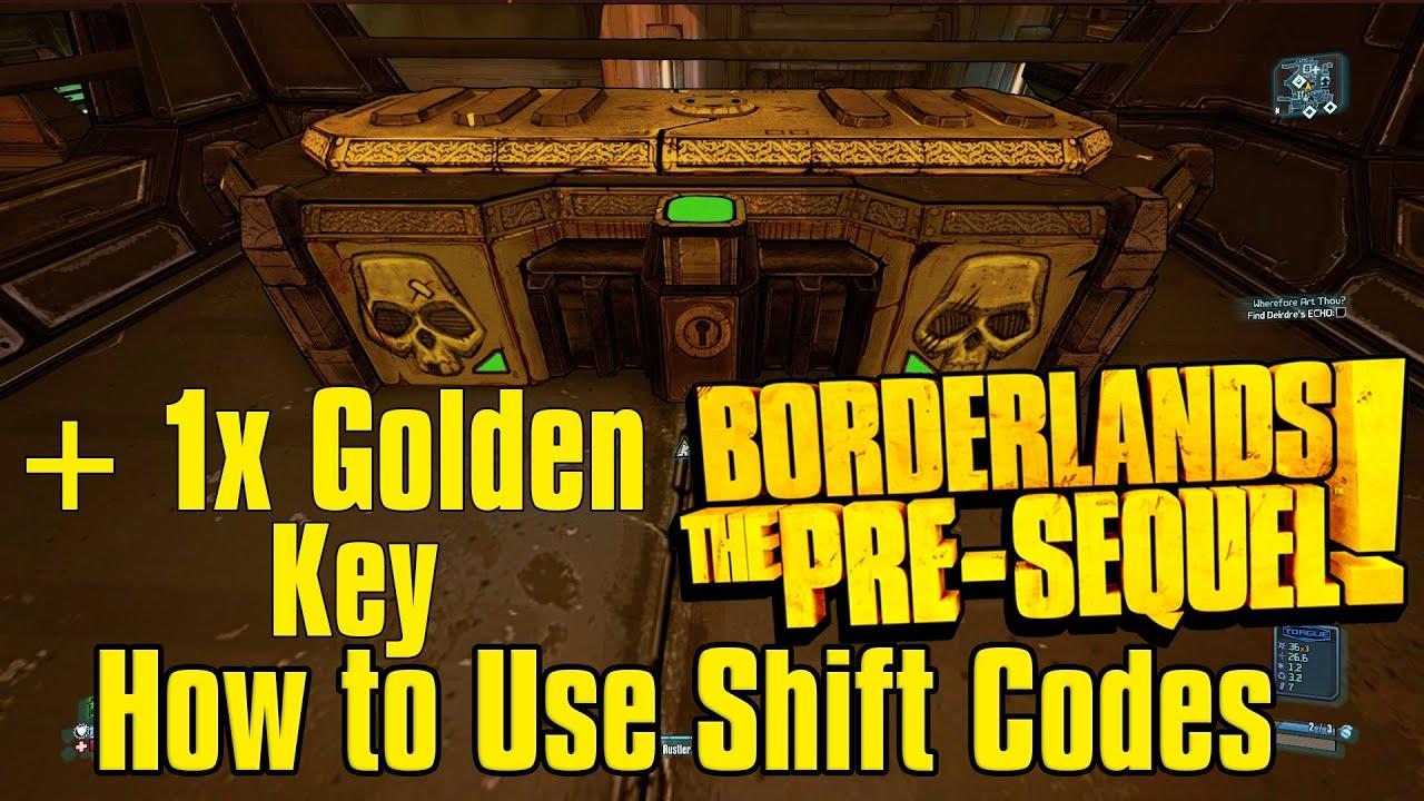 Biki Showcast How to Use Borderlands The Pre Sequel Shift ... Borderlands Pre Sequel Shift Codes