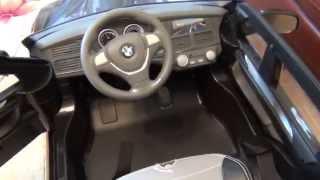 видео: Игрушечная машинка BMW. Большая игрушечная машина BMW для детей