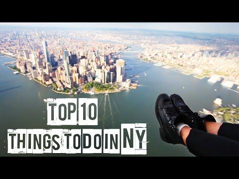 ТОП 10  ЧТО ДЕЛАТЬ В НЬЮ-ЙОРКЕ