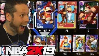 I unlocked team Donkey Kong on NBA 2K19