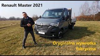 Nowy Renault Master 2021, L3 bliźniak 165KM, oryginalna wywrotka fabryczna, grupa Auto Centrum Lis