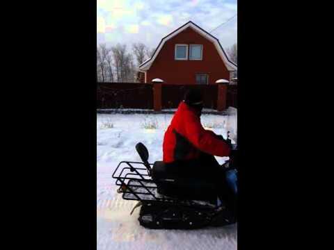 Снегоход ICE DEER IDC 170  ракета одним словом!!!