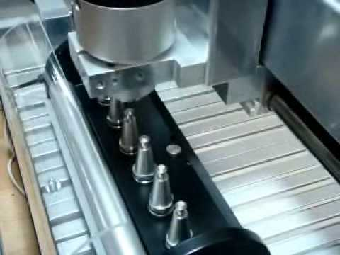 Automatic Tool Changer and Setter for