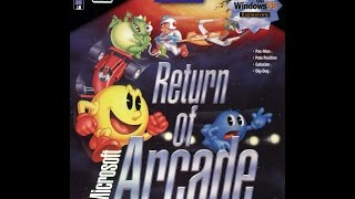 Microsoft return of the arcade