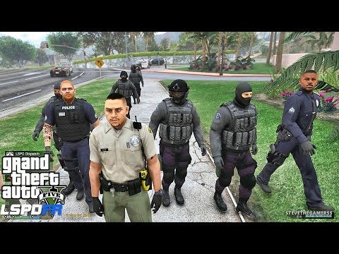 LSPDFR #467 CITY SHERIFF PATROL !! (GTA 5 REAL LIFE POLICE MOD)