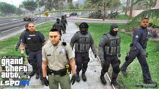 Video LSPDFR #467 CITY SHERIFF PATROL !! (GTA 5 REAL LIFE POLICE MOD) download MP3, 3GP, MP4, WEBM, AVI, FLV November 2018
