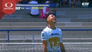 Penal de Felipe Mora | Pumas 2 - 0 Puebla | Apertura 2018 - Jornada 11 | Televisa Deportes