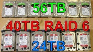 Centrální Mozek Lidstva v1.3 - 40TB diskové pole RAID 6 (můj počítač 2017/08) thumbnail