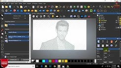 How Create V-Bit Texture on Images in  Artcam 2018 | By- GS Zone