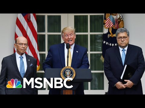 President Trump Backs Off Effort To Include Census Citizenship Question – The Day That Was | MSNBC