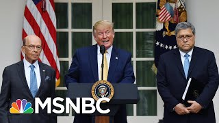 President Trump Backs Off Effort To Include Census Citizenship Question - The Day That Was   MSNBC