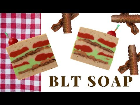 Bacon, Lettuce, Tomato Soap