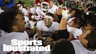 Baker Mayfield Won't Start Vs. West Virginia After Kansas Antics | SI Wire | Sports Illustrated thumbnail