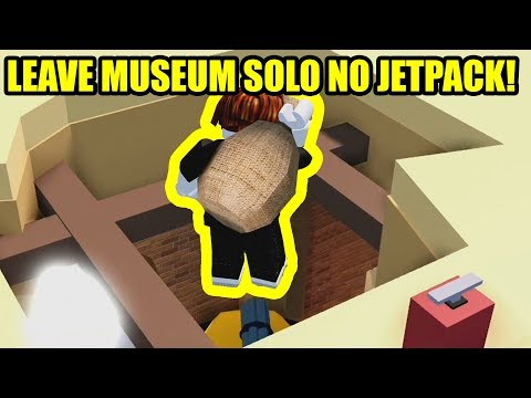 HOW TO GET OUT OF MUSEUM SOLO (NO JETPACK) + OTHER GLITCHES | Roblox Jailbreak