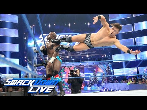 Apollo Crews vs. The Miz - Intercontinental Title Match: SmackDown LIVE, Dec. 20, 2016