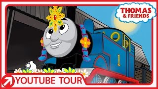Thomas Dresses Up for The Black Beauty Contest in India | YouTube World Tour | Thomas & Friends