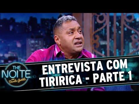 The Noite 300616 - Entrevista com Tiririca -  1