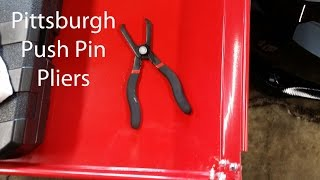 Review: Pittsburgh (Harbor Freight) Push Pin Plier