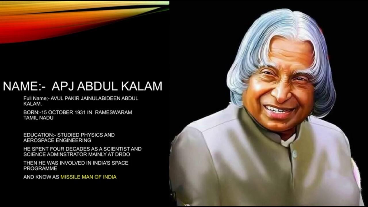 10 Best Lessons of Dr APJ Abdul Kalam - True Indians Life