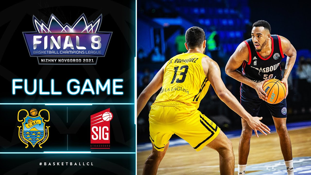 Lenovo Tenerife v SIG Strasbourg - Full Game | Basketball Champions League 2020/21