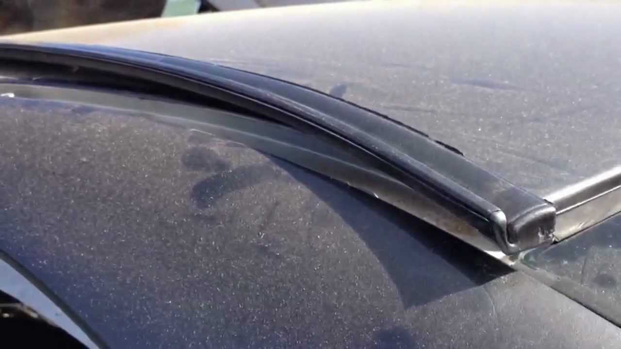 HOW TO REMOVE BIKE RACK ROOF MOLDING FINISH LINER 97 03 BMW 5 SERIES E39  528I 525I 530I 540I M5   YouTube