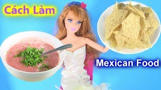 Chị Bí Đỏ Hướng Dẫn Làm  Món Salsa Của Mexico / Homemade Salsa Mexican Food