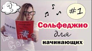 СОЛЬФЕДЖИО для начинающих! Урок №1 / Анастасия Селебрити