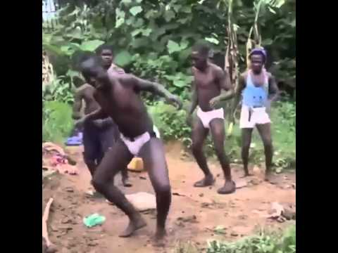 My African tribe dancing