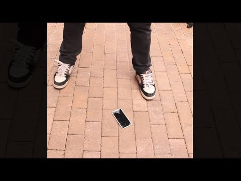 guy cracks the very first iPhone X