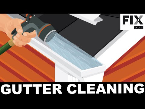Gutter Maintenance: How to Clean and Repair Your Home's Gutters | FIX.com