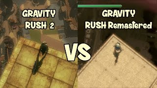 Gravity Rush 2 vs Gravity Rush Remastered on PS4 Pro: Clipping Comparison