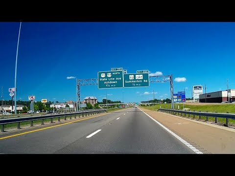 Road Trip #176 - US-59 North - Texarkana, Texas/Arkansas