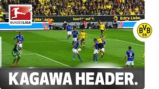 Air Kagawa - Japanese Star Scores Rare Header in the Derby