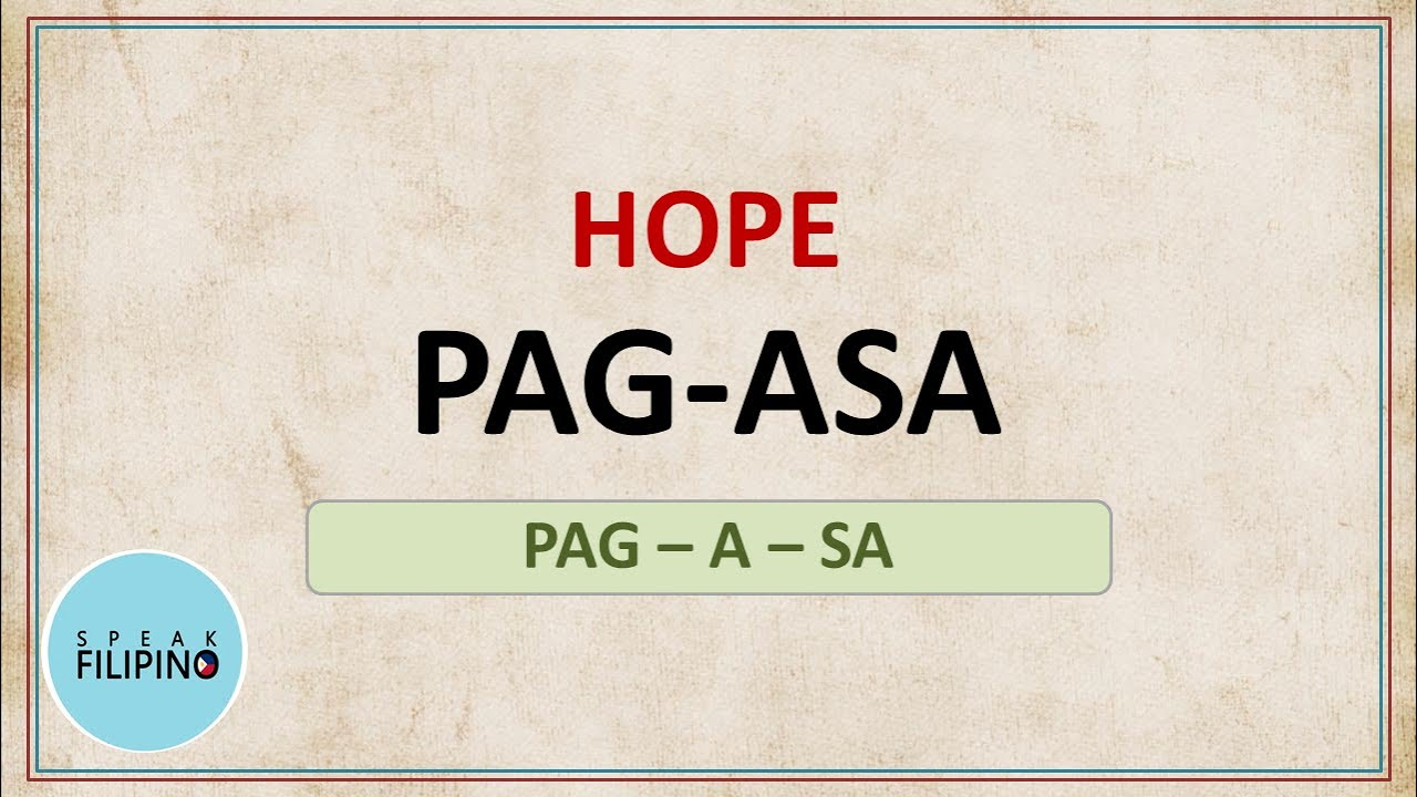 English - Tagalog Words to Add to your Vocabulary! #9