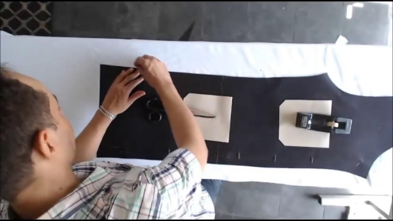 Aprenda Criar Criar Jaleco Masculino Riscar Cortar E Costurar