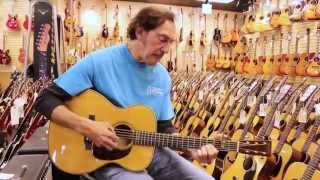 Video Freebo playing a Martin 000-28 here at Norman's Rare Guitars download MP3, 3GP, MP4, WEBM, AVI, FLV Desember 2017