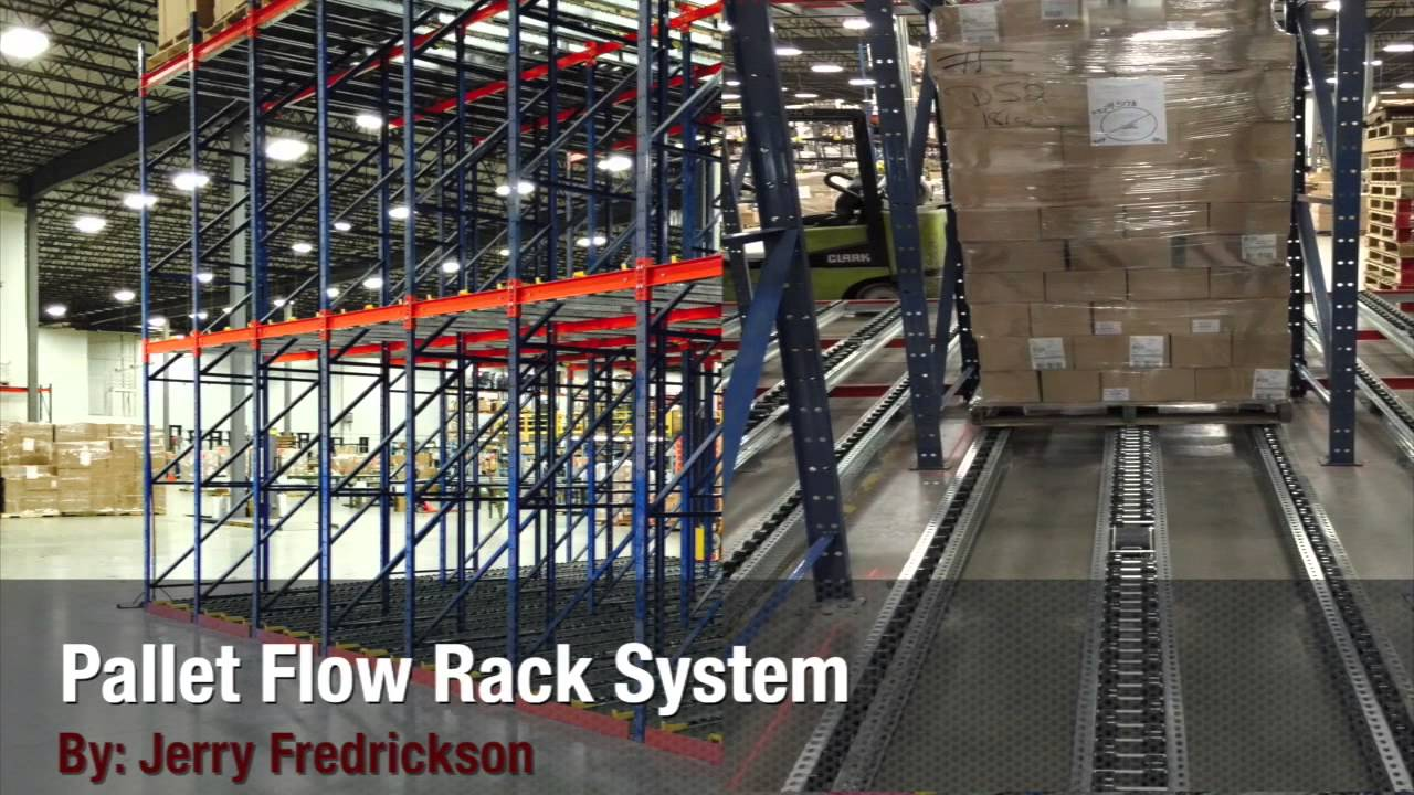 how does pallet flow storage system work pallet rack guide