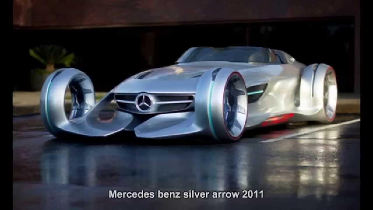 443 mercedes benz silver arrow 2011 prototype car for Mercedes benz silver lightning