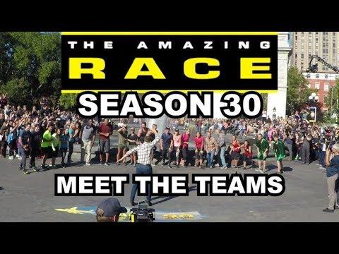 Meet the Teams - Amazing Race Season 30